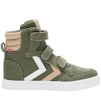 Hummel Shoes - HMLStadil High Jr - Deep Lichen Green