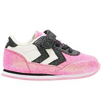 Hummel Shoes - HMLReflex Glitter Infant - Black/Pink