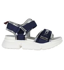 Tommy Hilfiger Sandals - Velcro - Blue/Silver
