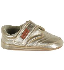 Melton Soft Sole Leather Shoes - Gold
