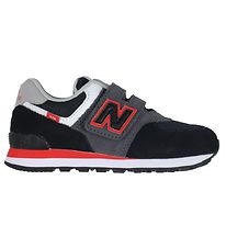 New Balance Shoes - Classic 574 - Black/Red