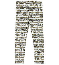 Fendi Kids Leggings - Light Blue w. Hearts
