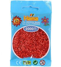 Hama Mini Beads - 2000 pcs - Red