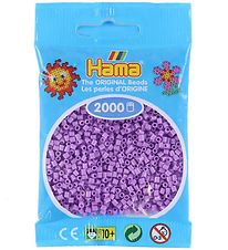 Hama Mini Beads - 2000 pcs - Pastel Purple