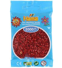 Hama Mini Beads - 2000 pcs - Dark Red