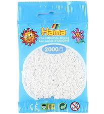 Hama Mini Beads - 2000 pcs - White