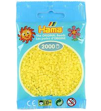 Hama Mini Beads - 2000 pcs - Pastel Yellow