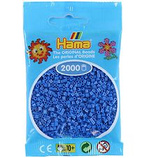 Hama Mini Beads - 2000 pcs - Blue