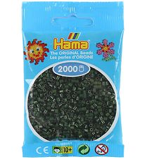 Hama Mini Beads - 2000 pcs - Dark Green