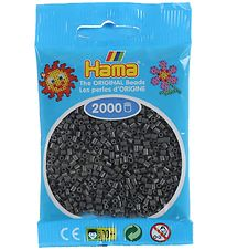 Hama Mini Beads - 2000 pcs - Dark Grey