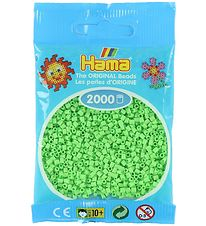 Hama Mini Beads - 2000 pcs - Pastel Green