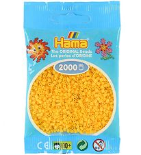 Hama Mini Beads - 2000 pcs - Yellow