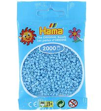 Hama Mini Beads - 2000 pcs - Pastel Blue