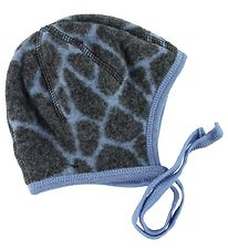 Joha Baby Hat - Wool - Blue Pattern