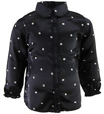 Mini A Ture Shirt - Tonora - Navy w. Ladybugs