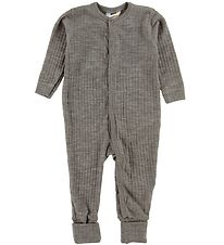 Joha Night Suit - Wool - Brown Melange