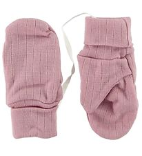 Joha Mittens - Wool - Rose