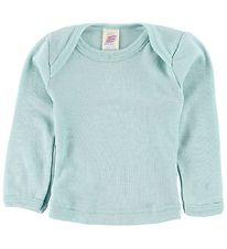 Engel Blouse - Wool/Silk - Light Blue