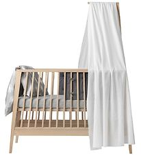 Leander Canopy - Linea - White