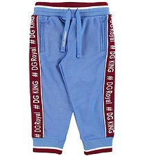 Dolce & Gabbana Sweatpants - Light Bluew/ Bordeaux