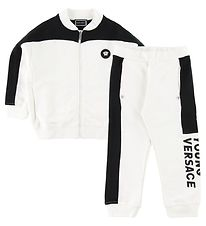 Young Versace Tracksuit - Black/White
