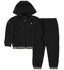 Young Versace Tracksuit - Black Pattern