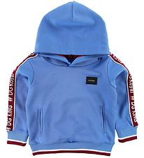 Dolce & Gabbana Hoodie - Light Bluew/ Bordeaux