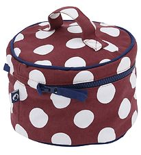 Rasmus Klump Toiletry Bag - Bordeaux w. Dots