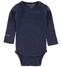 Mini A Ture Bodysuit L/S - Ellis - Navy
