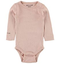Mini A Ture Bodysuit L/S - Emmely - Powder