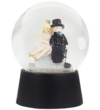 Kids by Friis Snow Globe - D:11 cm - Shepherdess & Chimney Sweep