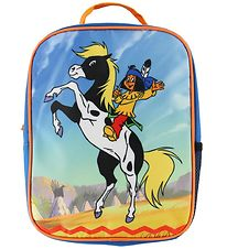 Yakari Preschool Backpack - Blue