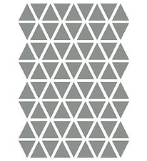 ferm Living Wallstickers - Triangle - Grey