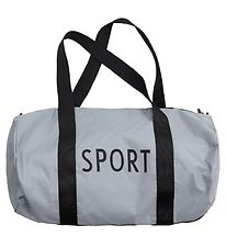 Design Letters Sports Bag - Small - Grey