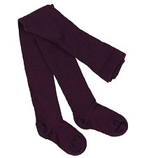 Smallstuff Tights - Wool - Purple
