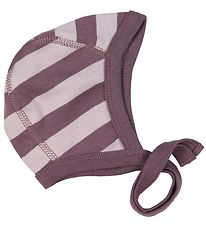 Katvig Baby Hat - Purple Striped