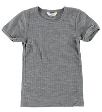 Joha T-shirt - Wool - Grey Melange