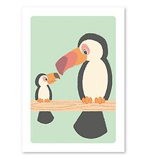 Studio Circus Poster - A4 - Toucan And Youngen