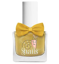 Snails Nail Polish - Make A Wish - Yellow w. Glitter