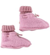 Joha Slippers - Wool - Pink