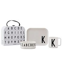 Design Letters Dinner Set - Classic In A Suitcase - K