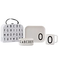 Design Letters Dinner Set - Classic In A Suitcase - O