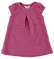Joha Dress - Wool - Fuchsia w. Structure