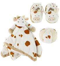 Teddykompaniet Gift Box - Cow - White