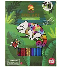 Tiger Tribe Play Set - Foil Art - Rainforest