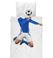 Snurk Duvet Cover - Junior - Blue Football Player