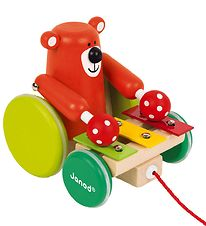 Janod Pull Along Toy w. Zigolo - Bear