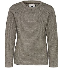 Hummel Blouse - Wool - Knitted - Brown/Ivory