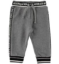 Dolce & Gabbana Sweatpants - Grey Melange