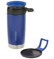 Wow Cup Thermo - Steel - 400 ml - Blue/Black